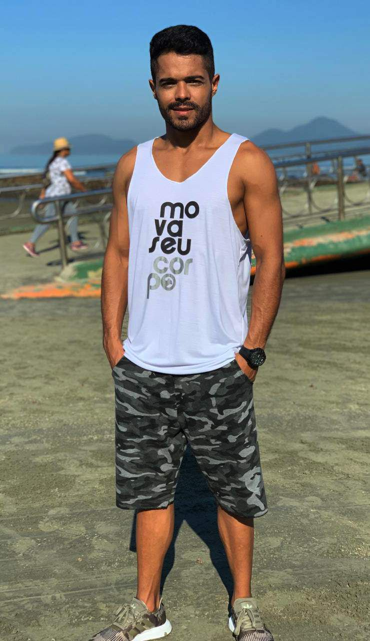 Bermuda Moletom Masculina