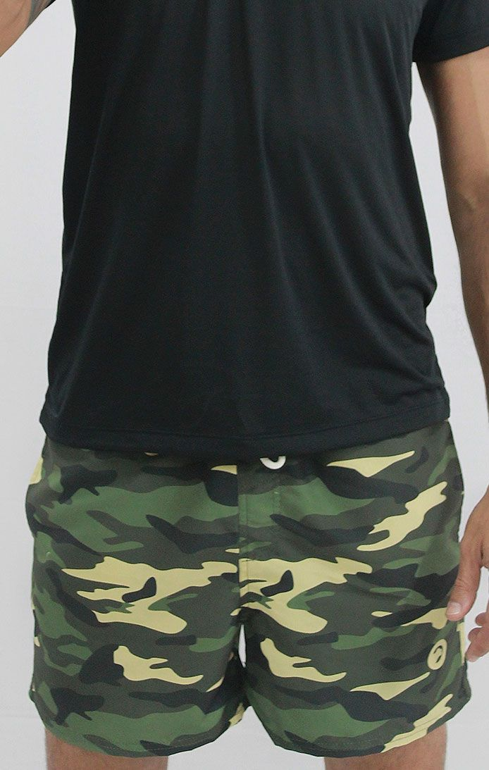 Shorts tactel sublimado Camuflado