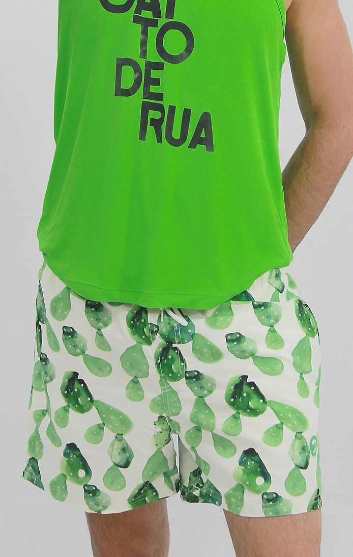 Shorts Sublimada - Verde