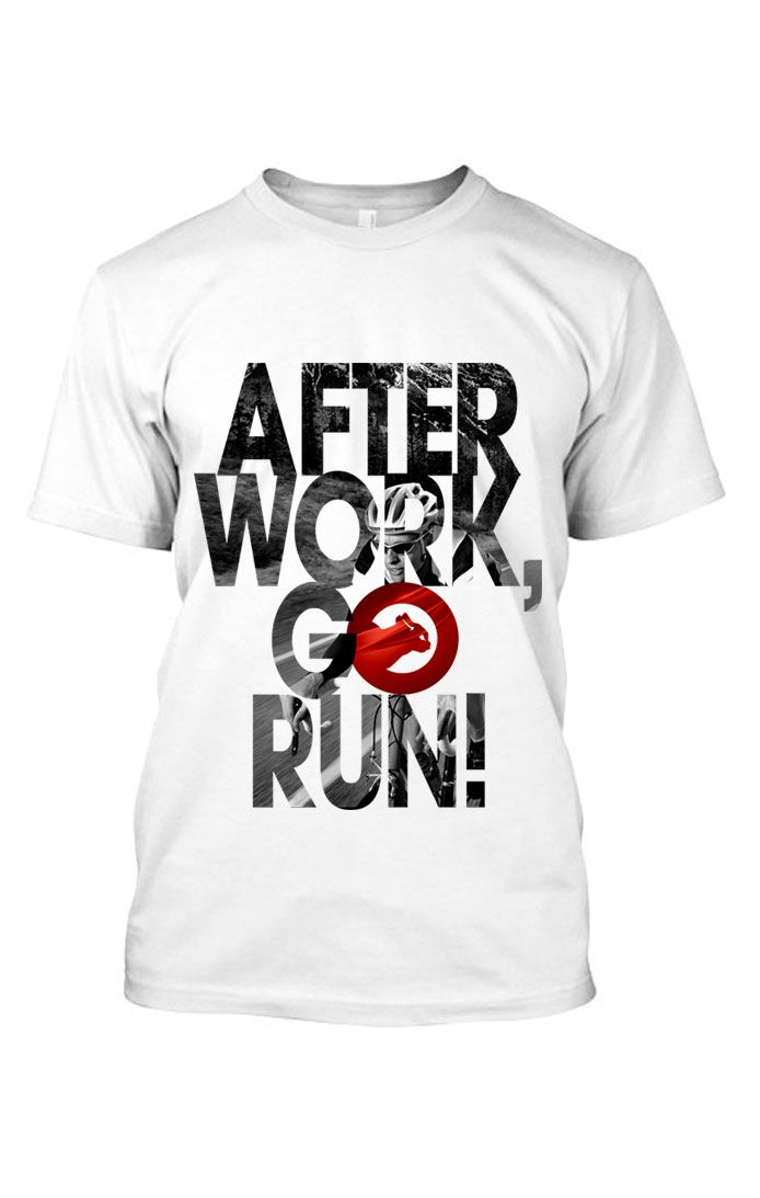 Camiseta After Work - Branco