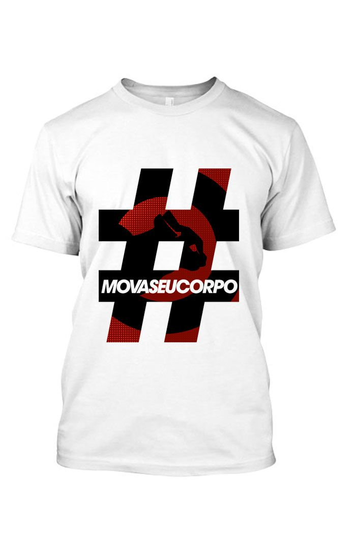 Camiseta # - Branco