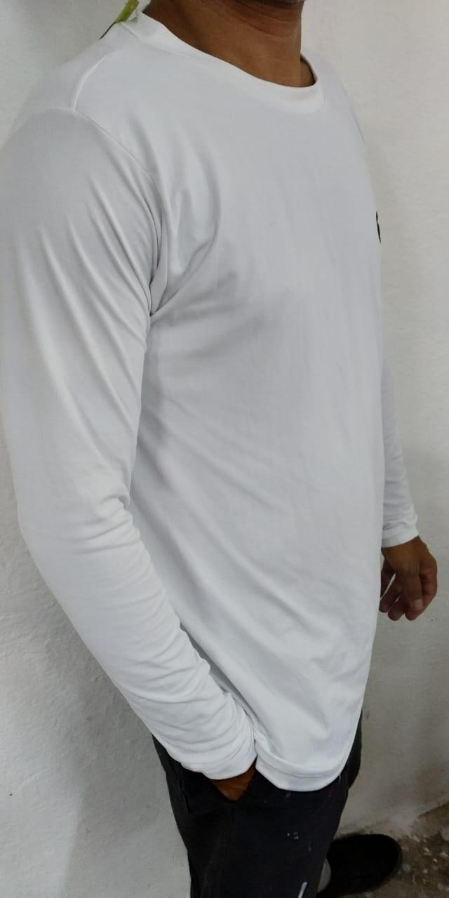 Camiseta Masculina Manga Longa Proteção Solar UV 50+ Masculina