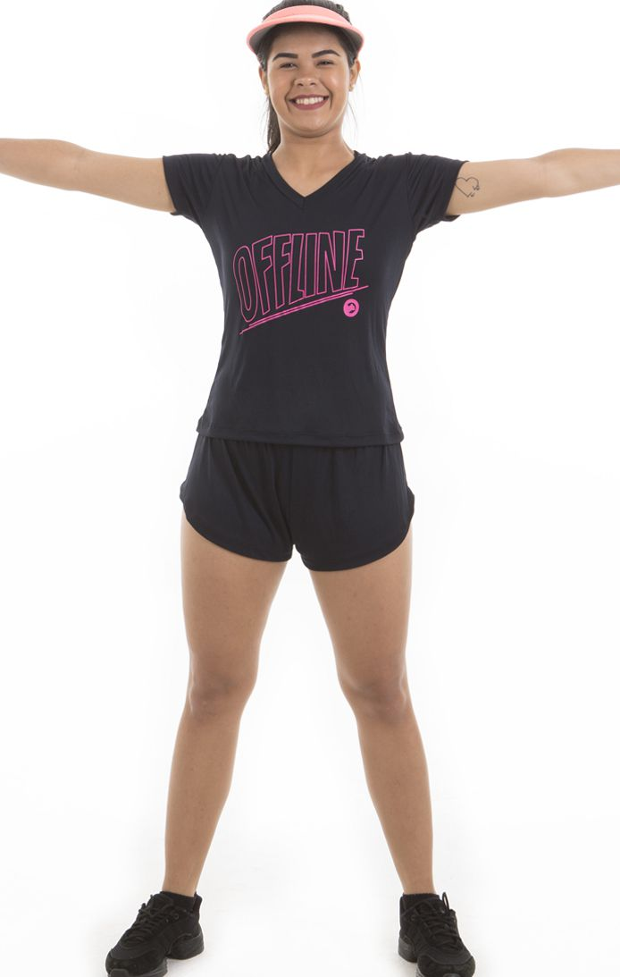 Camiseta Dry Fit - Feminina