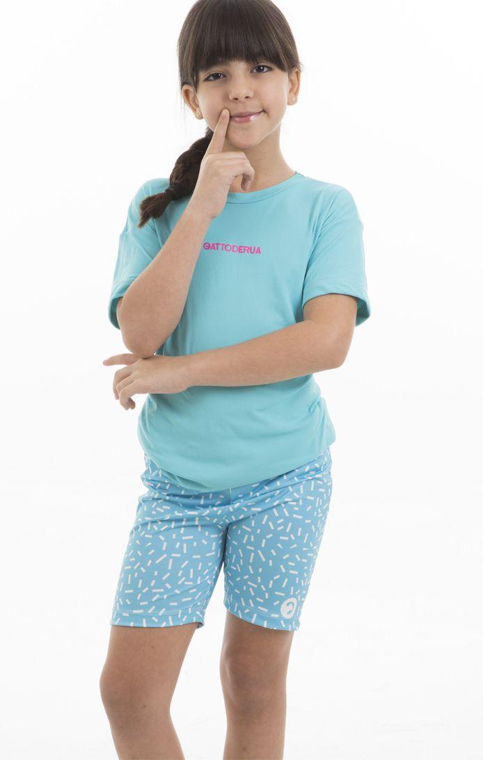 Camiseta Dry Fit - Infantil Feminina