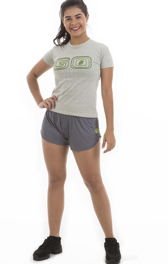 Camiseta Estampada - Feminina