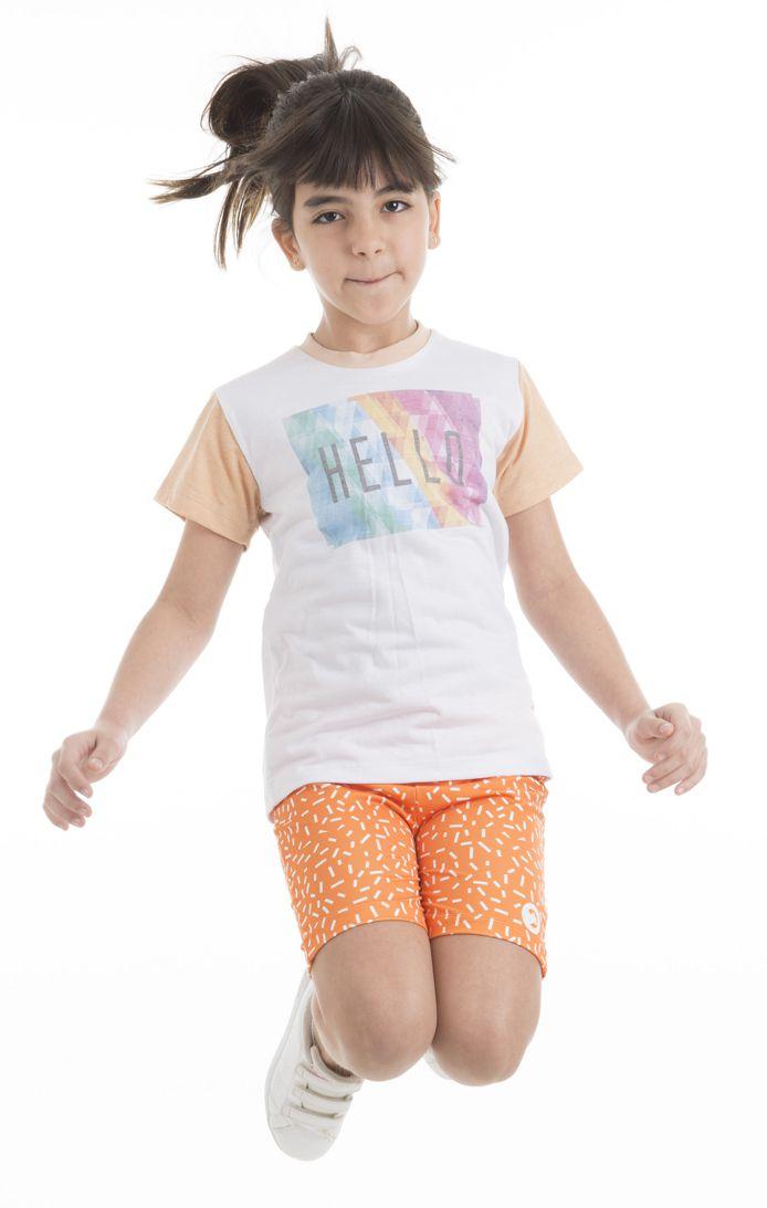 Camiseta Estampada - Infantil Feminina