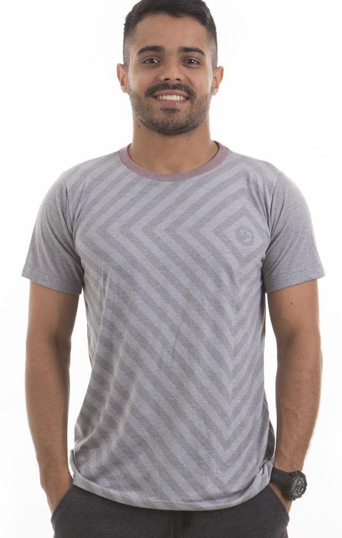 Camiseta Estampada - Masculina