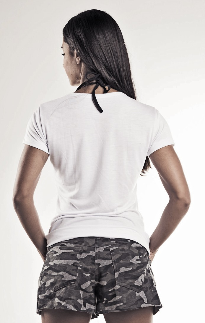 Blusa feminina  Modal branca