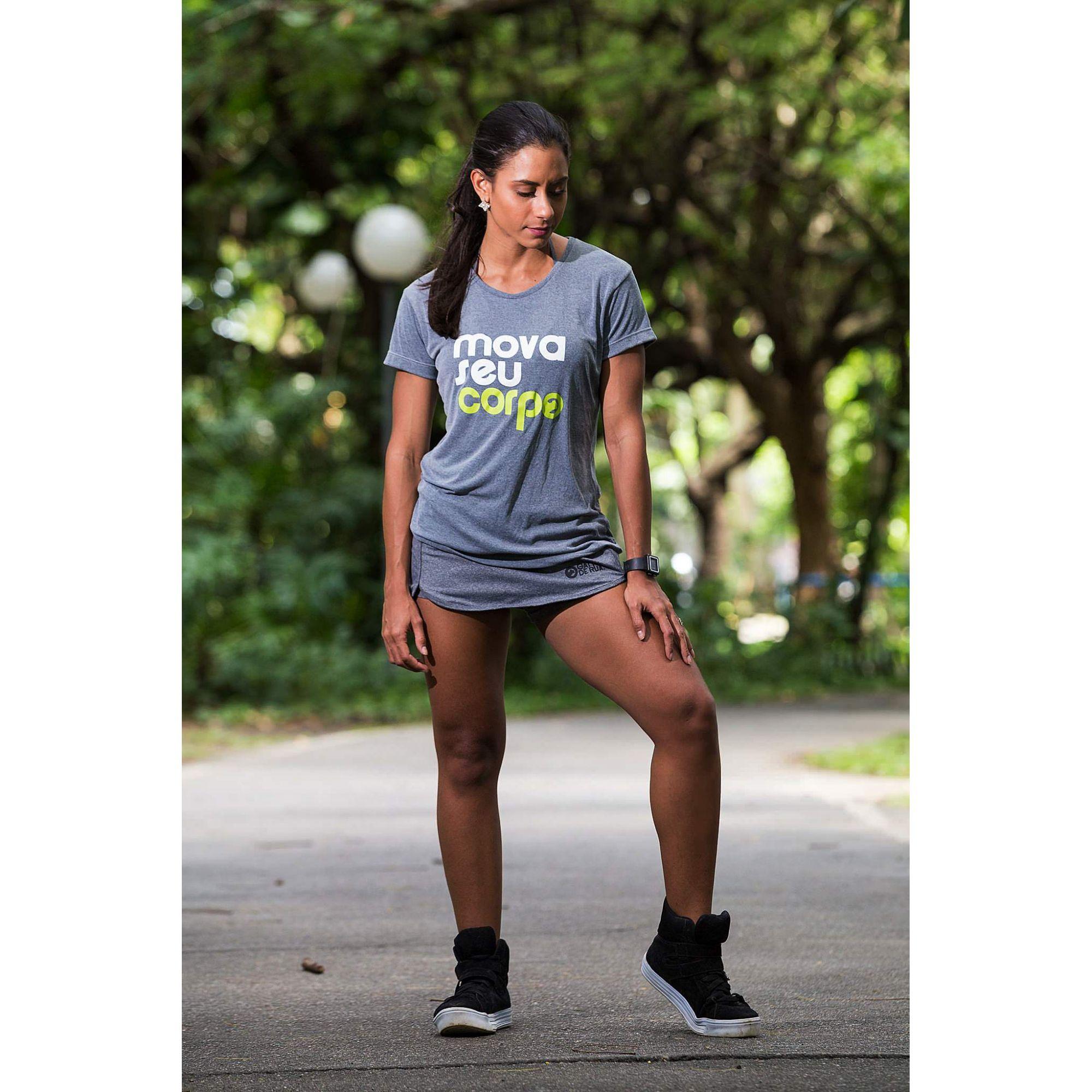 Camiseta Dry Fit Feminina