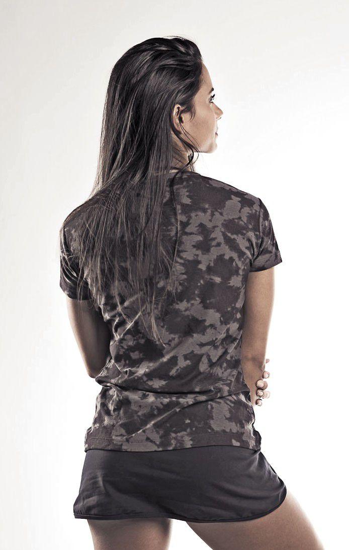 Camiseta de Algodão - Feminina
