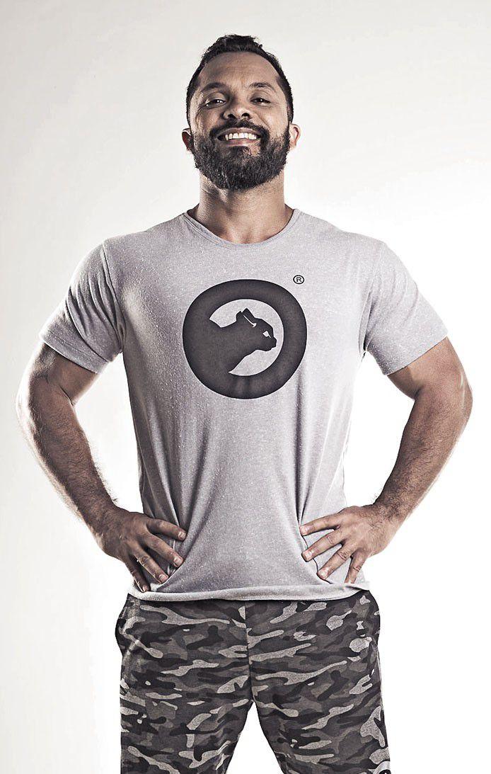 Camiseta masculina estampada  rustic