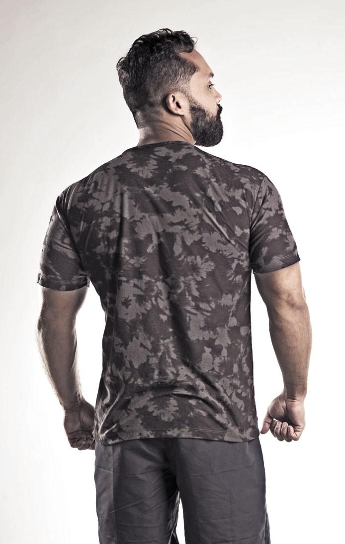 Camiseta masculina estampada  tie die