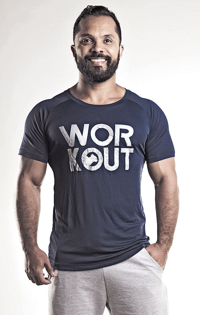 Camiseta Dry Fit Workout Masculina