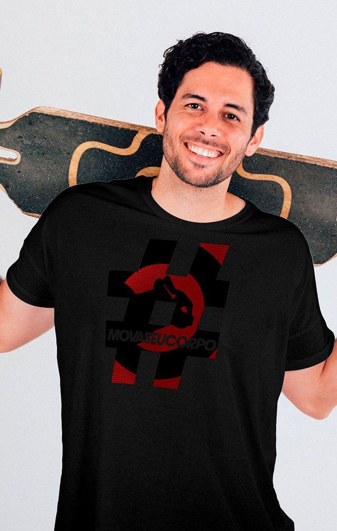 Camiseta # - Preta