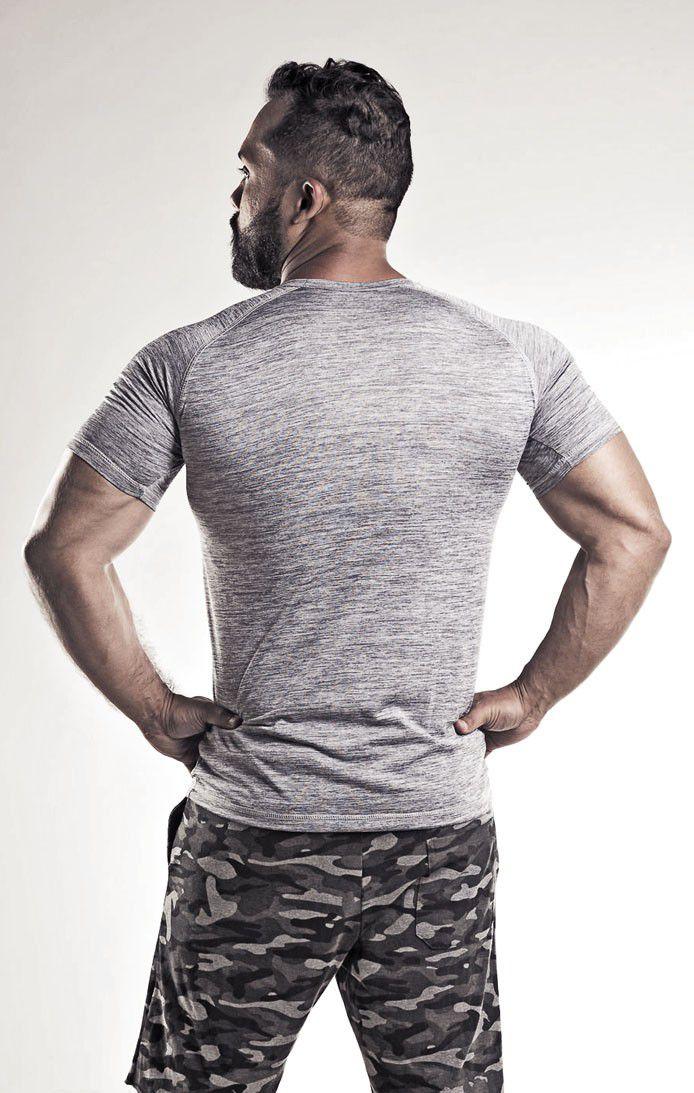 Camiseta Masculina Mescla Dry Fit
