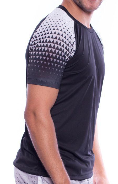 Camiseta Raglan Geometric