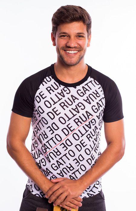 Camiseta Raglan Street