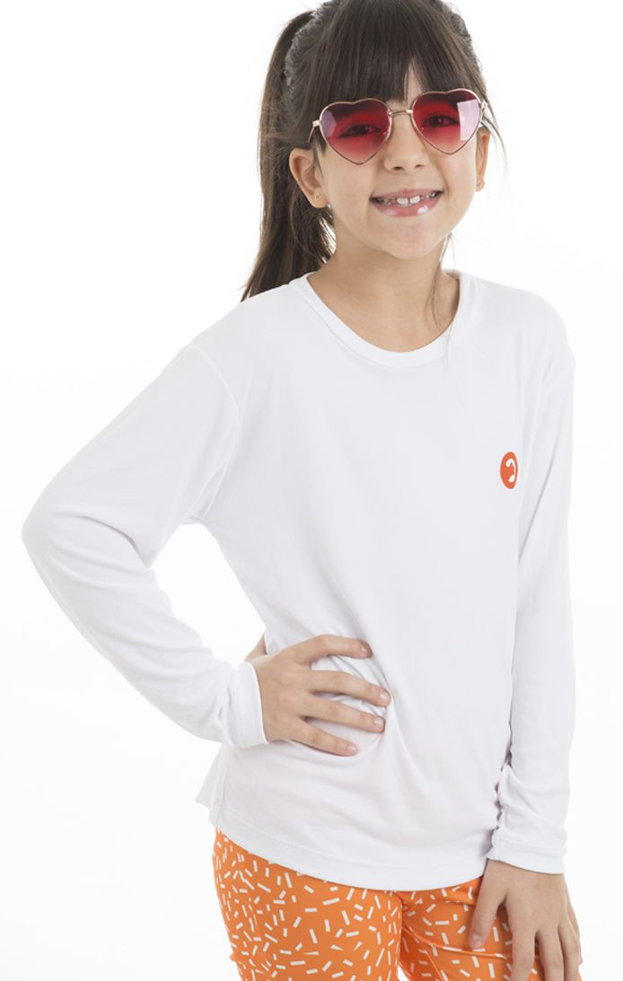 Camiseta UV - Infantil Feminina