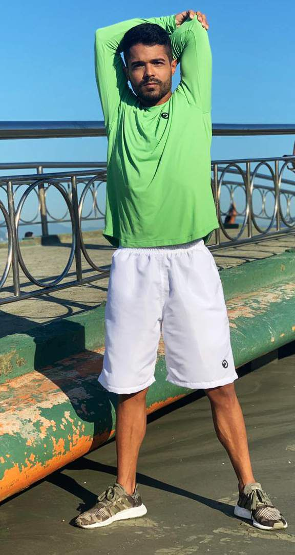 2 Camisas UV Manga Longa Gatto de Rua