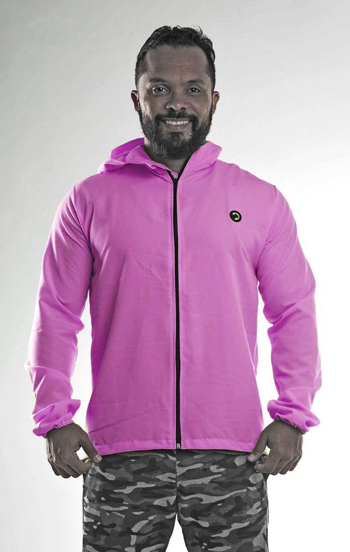 Jaqueta corta vento masculino