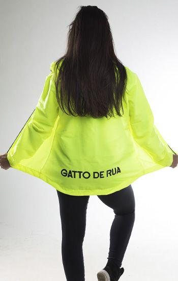Jaqueta Corta Vento Lisa Feminina