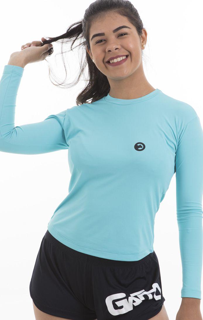 Kit 2 Camisetas UV  Poliamida Manga Longa Feminina