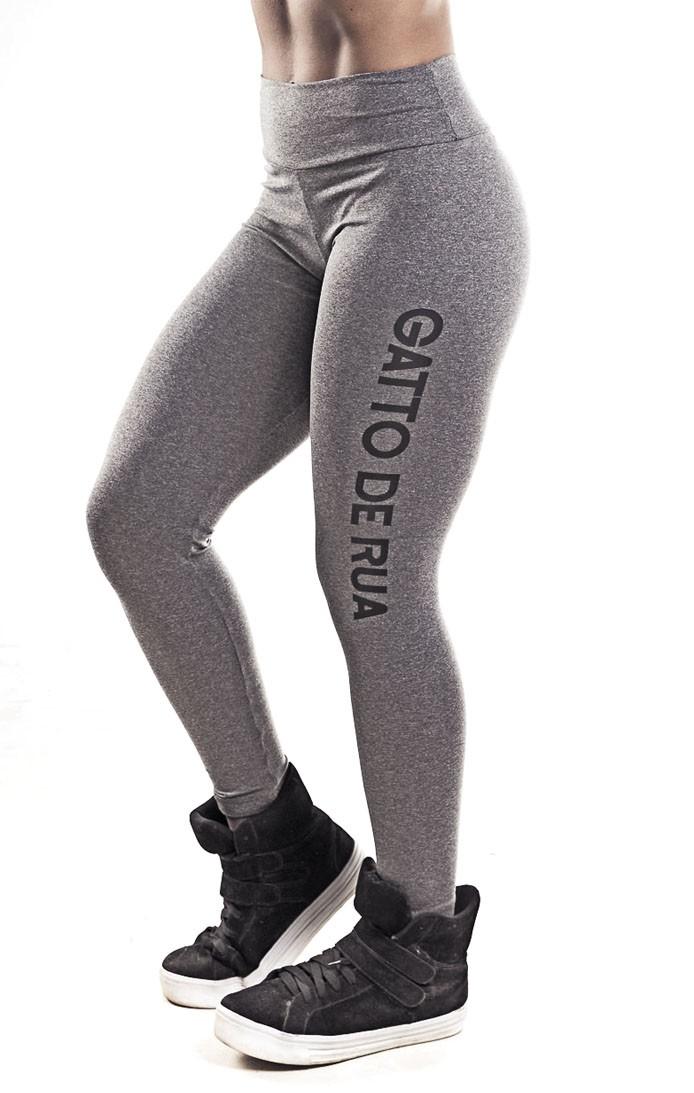 Legging Suplex  cintura alta Mescla