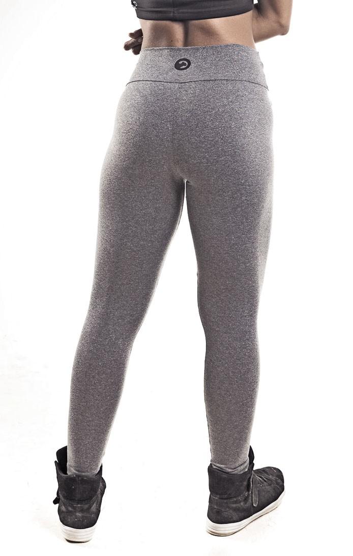 Calça Legging   cintura alta Mescla