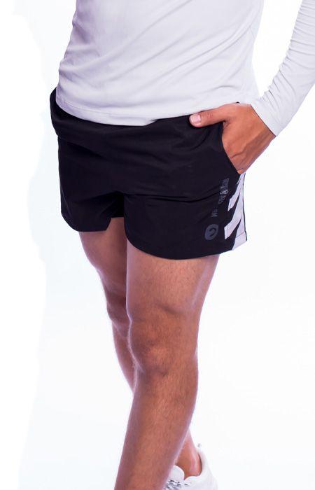 Shorts Tactel Training C/ Recorte