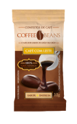 COFFEE BEANS ZERO CAFE COM LEITE 10GR DP 15 UNID