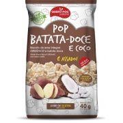 SNACK POP DE BATATA DOCE COM COCO SEM GLÚTEN 40GR