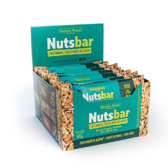BANANA BRASIL NUTSBAR CAST COCO NIBS 25G DP 20