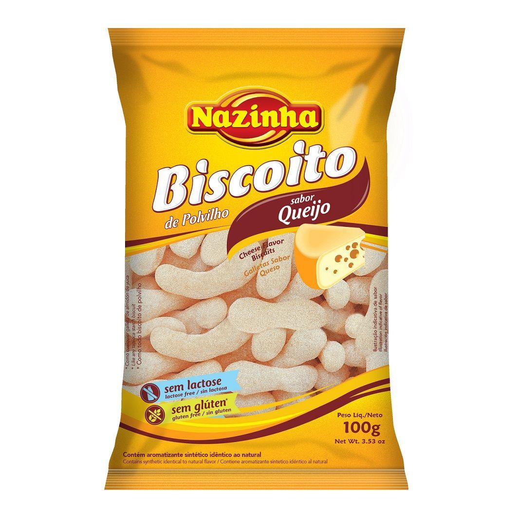 BISCOITO DE POLVILHO QUEIJO 100GR
