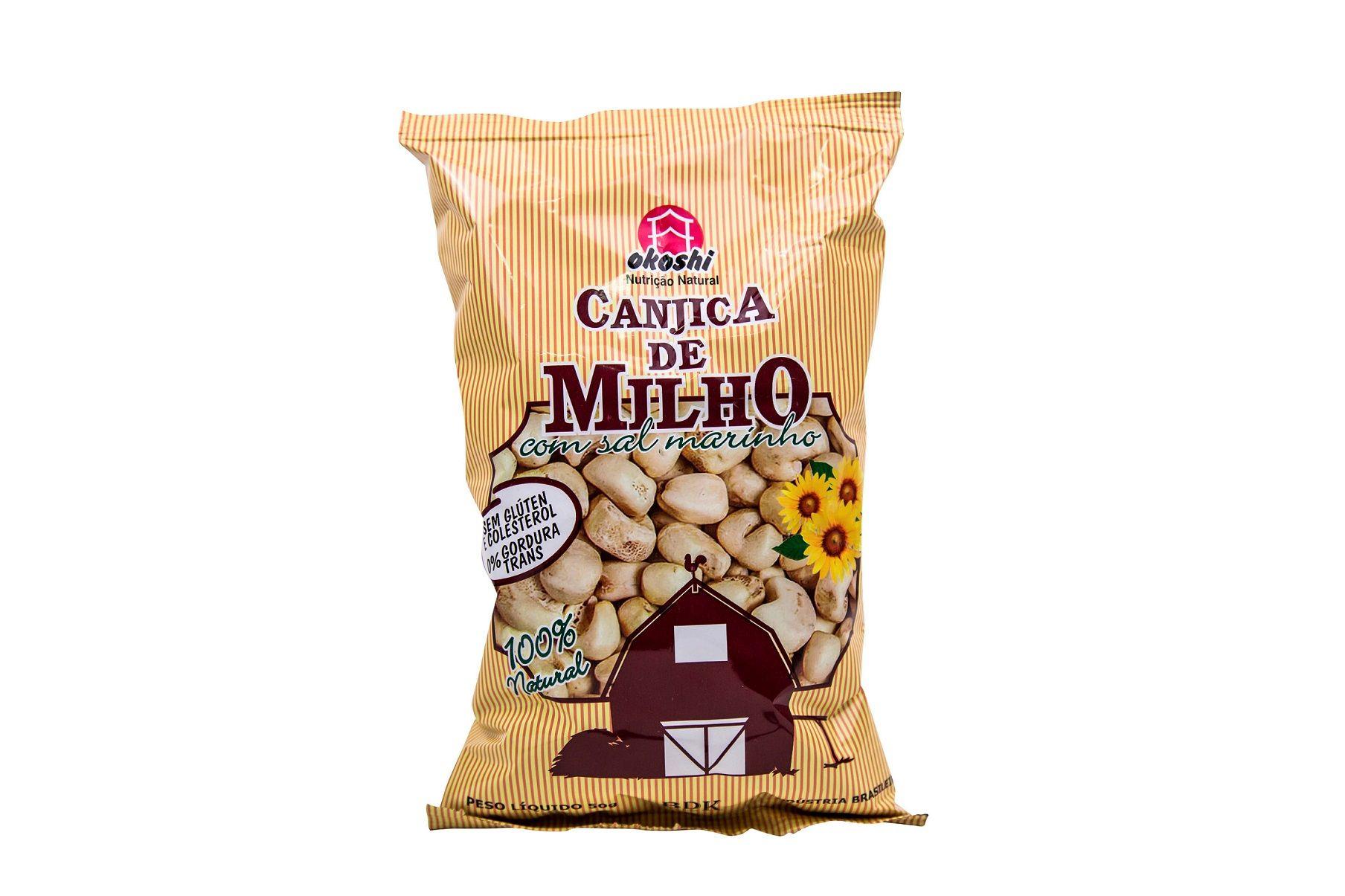 CANJICA DE MILHO COM SAL MARINHO 50GR