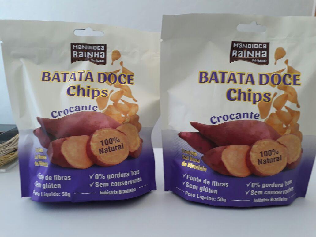 CHIPS DE BATATA DOCE 50GR