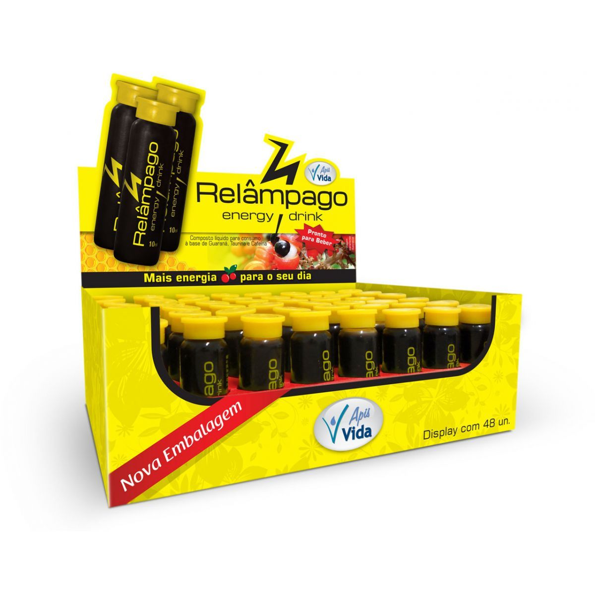 RELAMPAGO ENERGÉTICO NATURAL 10ML DP 24 UNID