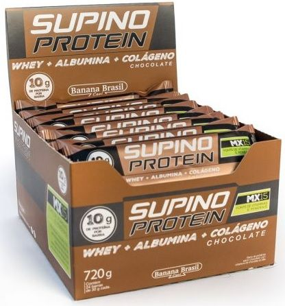 SUPINO PROTEIN CHOCOLATE 30G DP 24