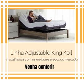 melhor circulação do ar para o microclima do colchão e adaptação do colchão aos movimentos da cama.