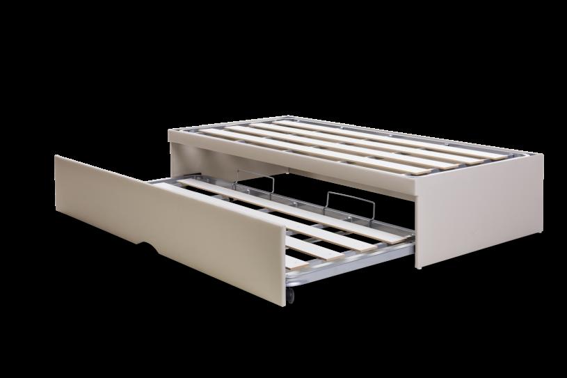 Box Bicama Flat Viúvo (com cama auxiliar)