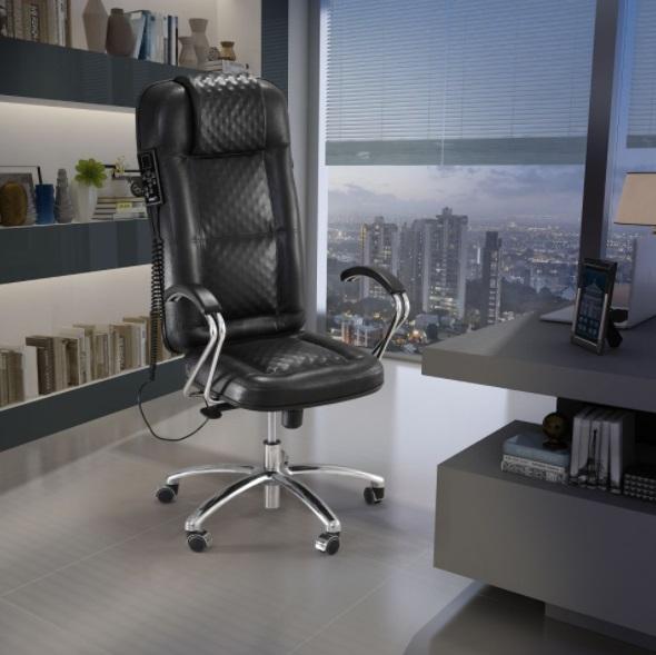 Cadeira Presidente com massagem Magnetos e Infravermelho longo e Terapia Quântica