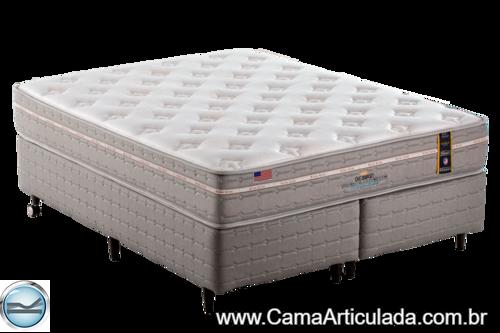 Cama Box com Colchão de Molas King Koil Desire