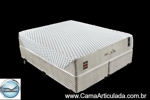 Cama Box com Colchão de Molas King Koil XL Latex