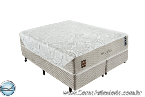 Cama Box com Colchão de Molas King Koil XL Soft