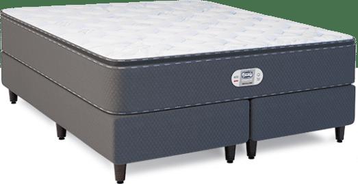Cama Box com Colchão de Molas Simmons Platinum Bamboo Dreamer