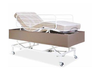 Cama com Elevação Vertical Comfort com Colchão Restpur 90x200