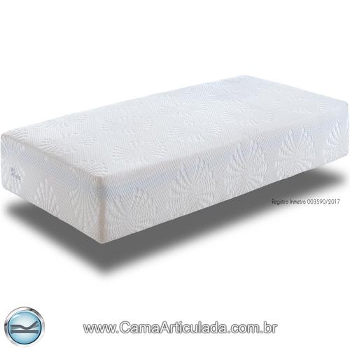 Colchão Brio Molas Ensacadas + Viscoelástico + Látex - Rolled (enrolado)