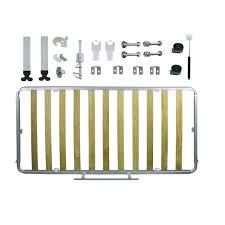 Kit de Ferragens Cama Retrátil Solteiro Horizontal - Linha Silver