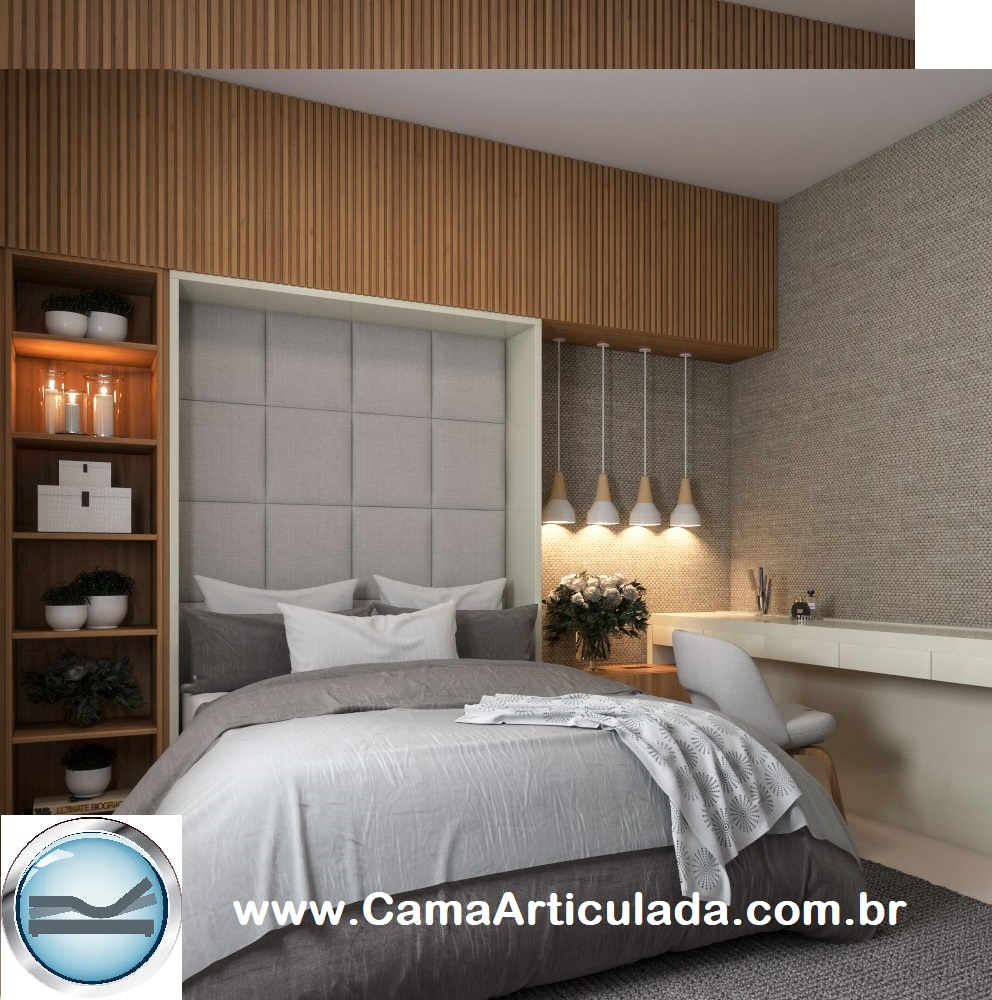 Kit de Ferragens para Cama Retrátil Automatizada Saga Brasil