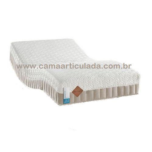 PRONTA-ENTREGA - Colchão 100% Látex com Gel - IMPORTADO (USA) 088X198X25cm de altura