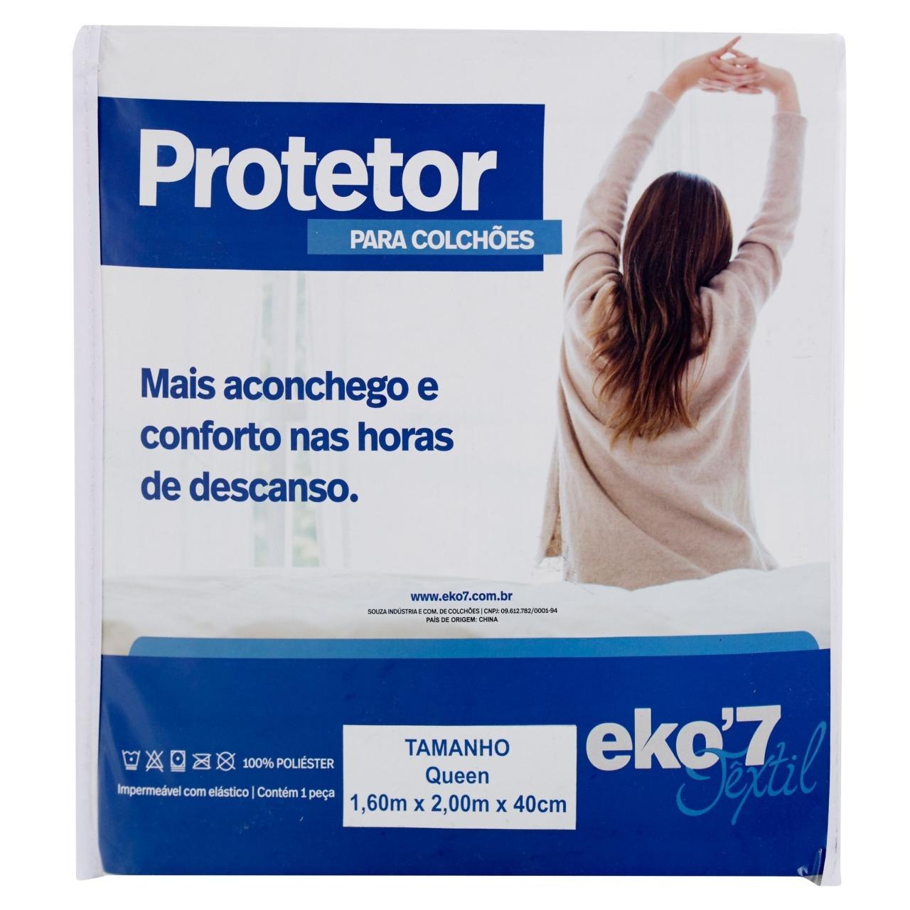 PROTETOR IMPERMEÁVEL PARA COLCHÃO - EKO7 SAGA BRASIL